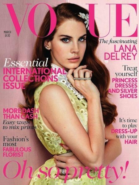 De los escenarios a las portadas: Lana del Rey en Vogue UK
