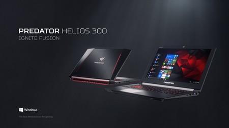 Portátil gaming Acer Predator Helios 300 con doble descuento: 150 euros de Acer y 208 euros de MediaMarkt