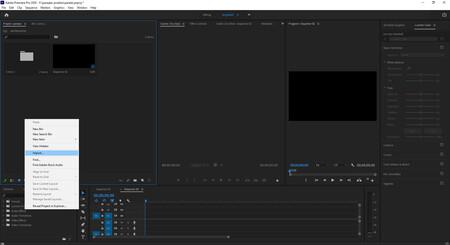 importar secuencias de imagen en premiere