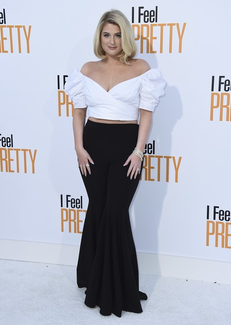 i feel pretty red carpet Meghan Trainor