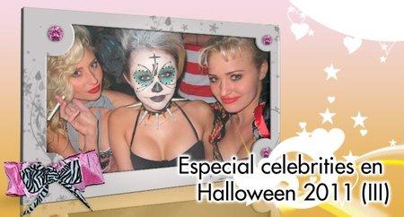 Especial celebrities en Halloween 2011: porque las fiestas nunca acaban