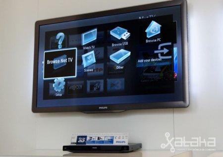 Un paseo por las novedades de Philips en Televisores para 2011