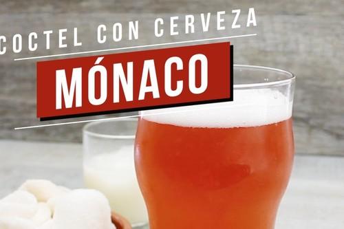 Mónaco, coctel con cerveza. Receta de bebida en video