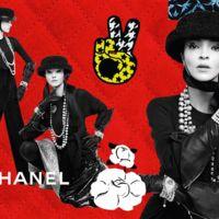 Chanel se apunta a la moda del collage en su nueva campaña Otoño 2016
