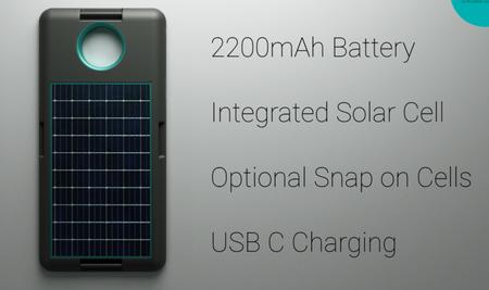 Bateria Solar Moto Mod