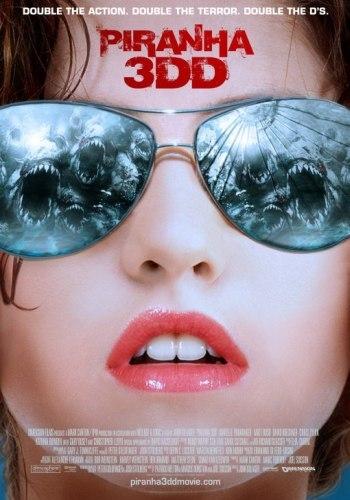 El cartel de Piranha 3DD (2012)