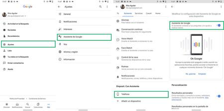 Desactivar Google Assistant Android