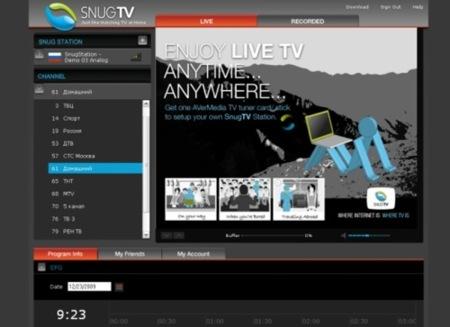 SnugTV, mira tu televisión desde el navegador
