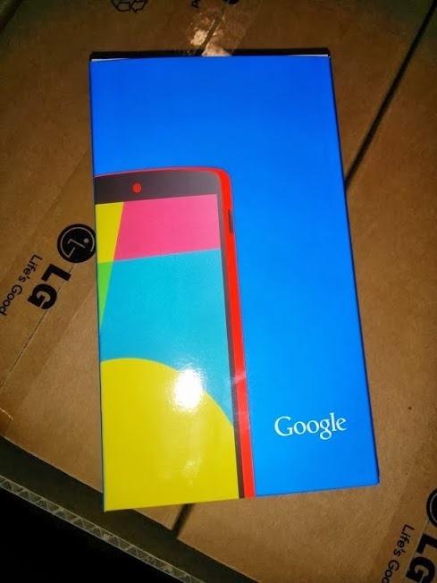 Foto de Google Nexus 5 rojo (1/7)