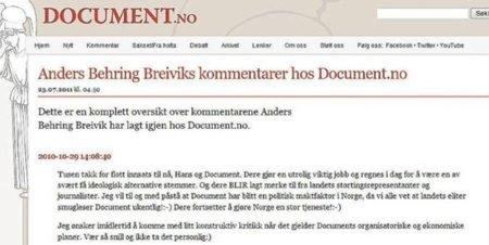 Las huellas ideológicas que el monstruo Anders Behring Breivik dejó en la red