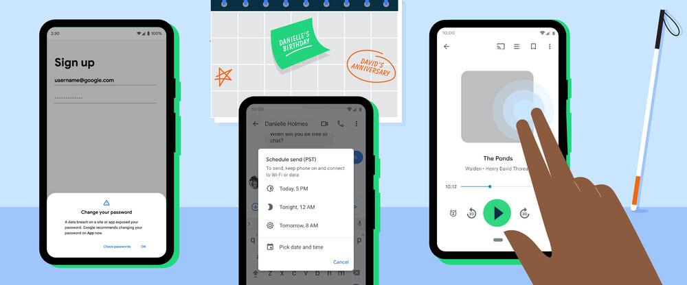 Tema oscuro en Google Maps, verificación de contraseñas, nuevo TalkBack y otras novedades que llegan a tu Android