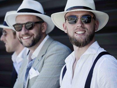 Comienza el Pitti Uomo y el street style ha hablado: el sombrero tipo Panamá es el accesorio definitivo