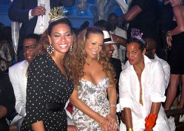 Beyonce y Mariah Carey juntas en Nochevieja