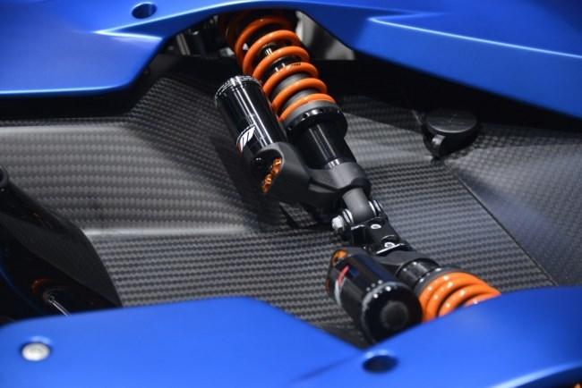 KTM X-Bow GT Suspensión pushrod