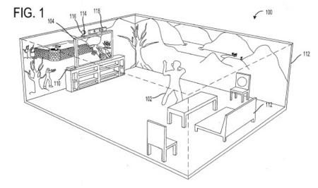 Tu habitación se convierte en el escenario del juego: una patente de Microsoft lo busca