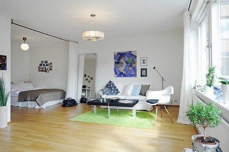 Separar el dormitorio con una cortina, ¿buena o mala idea?  Encuesta