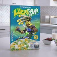 Kellogg's lanzará los cereales oficiales de Overwatch, y en cada paquete se incluye una caja de botín [BlizzCon 2018]