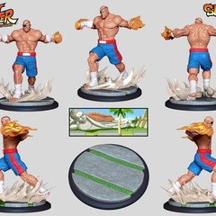 Foto 5 de 8 de la galería street-fighter-the-miniatures-game en Vida Extra