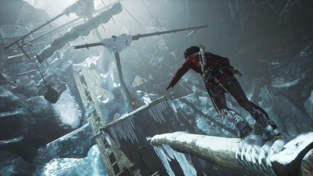 Captura Rise of tomb raider