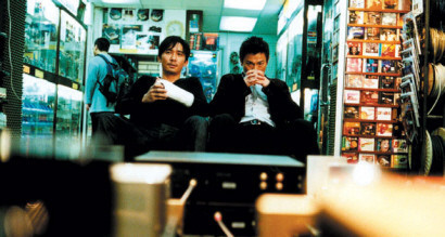 Tony Leung y Andy Lau en Infernal Affairs