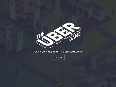 Este juego nos permite experimentar lo complicado que es ser un conductor de Uber