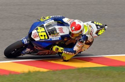 Valentino Rossi impone su ley en Mugello