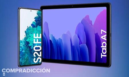 El Galaxy S20 FE viene con regalo en los Samsung Days de MediaMarkt: llévatelo por 599 euros y ahórrate 200 estrenando una tableta Galaxy Tab A7