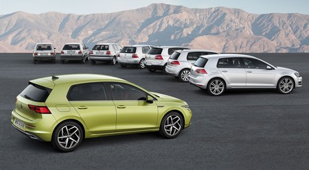 Del Volkswagen Golf de 1974 al de 2020: un repaso a las ocho generaciones del mítico compacto alemán