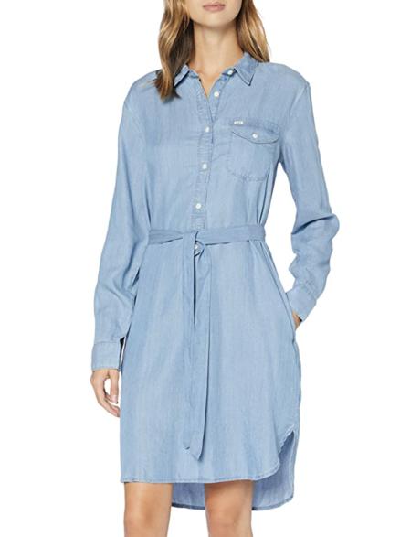 Lee Essential Dress Vestido En Amazon