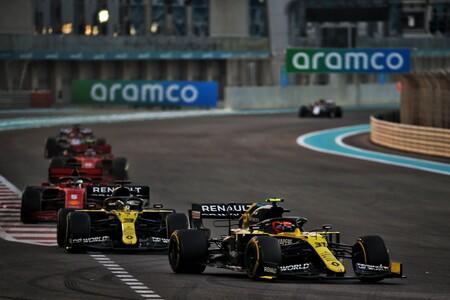 Renault Abu Dabi F1 2020