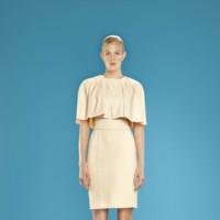 Vestido con capa Dolores Promesas Resort Primavera-Verano 2014