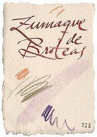 Zumaque de broteas, un vino singular
