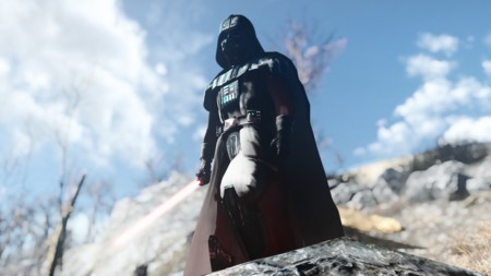El mítico duelo entre Luke Skywalker y Darth Vader también en Fallout 4
