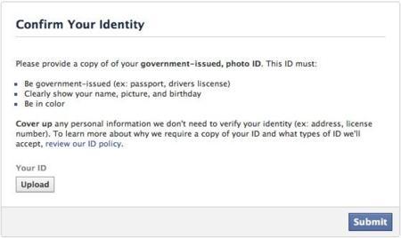 Nueva polémica con Facebook e Instagram: han pedido a algunos usuarios su carnet de identidad o partida de nacimiento