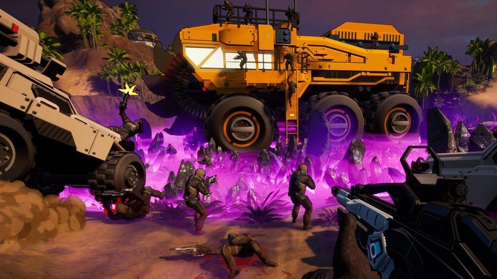 Petroglyph quiere resucitar el espíritu de Command & Conquer: Renegade con Earthbreakers