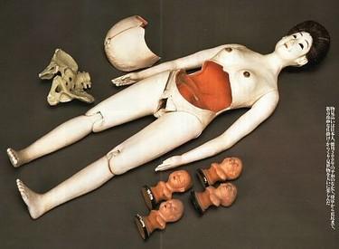 Muñecas embarazadas del siglo XIX