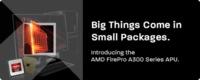 AMD también profesionaliza sus APU