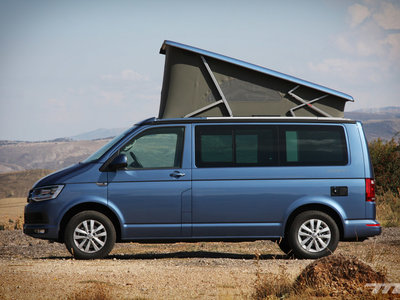 Hemos vivido en una Volkswagen California T6. ¿Para qué quieres tener una casa existiendo este artilugio?