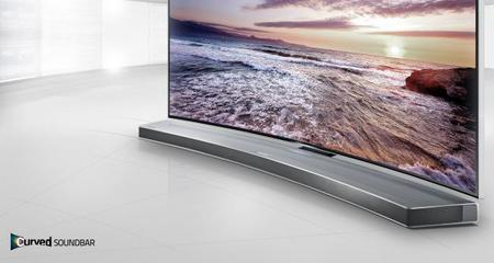 Barra curva Samsung