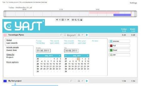 Yast nos ayuda a gestionar mejor nuestro tiempo de trabajo