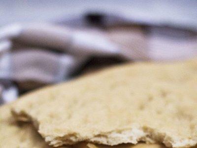 Pan de cañada o pan plano con aceite. Receta con Thermomix