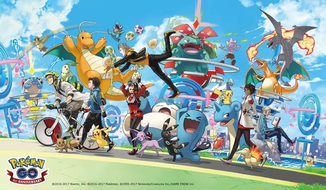 Pokemon Go Aniversario 01
