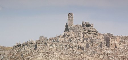Rodén, un pueblo abandonado durante la Guerra Civil, declarado Bien de Interés Cultural