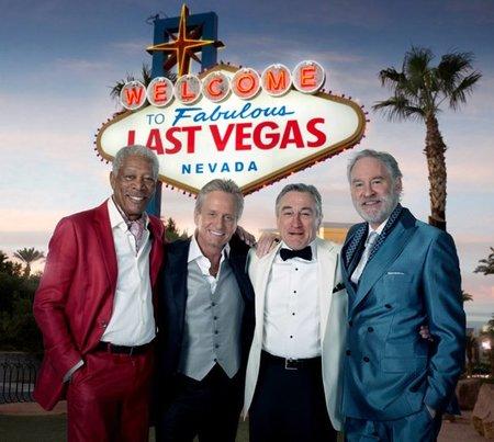 'Last Vegas', primera imagen oficial de la comedia con Freeman, Douglas, De Niro y Kline