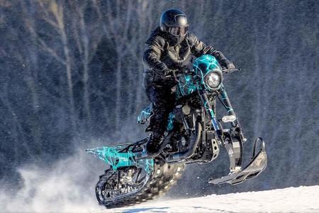 Harley Davidson Nieve