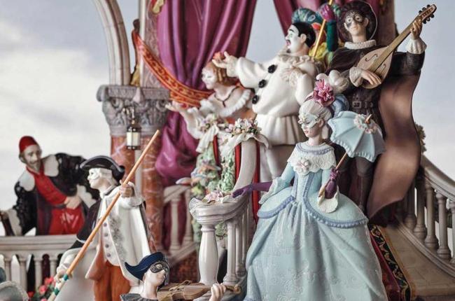 Carnaval Venecia Lladró