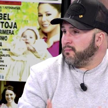 """Kiko Rivera destapa la mentira más ridícula de Isabel Pantoja: """"En la exclusiva del bautizo, pidió que le pusieran los ojos azules a mi hija, como Paquirri"""""""