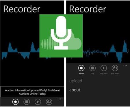 Cloud Recorder para WP7 permite grabar tus notas y compartirlas con todo el mundo