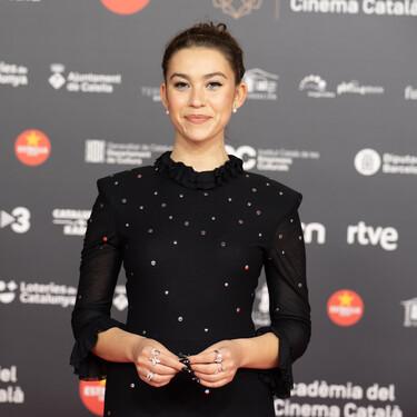 Greta Fernández, Natalia de Molina y Leticia Dolera nos dejan tres grandes looks de belleza en la alfombra roja de los Premios Gaudí 2021 en Barcelona