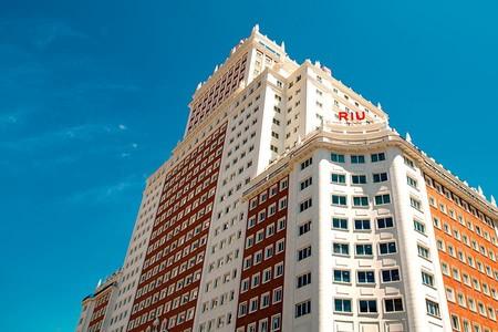 De Madrid al cielo, pasando por el nuevo hotel Riu Plaza de España